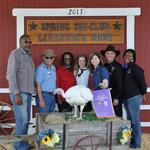 Grand Champion Turkey - Taylor Lucas; Buyer - Spring Stampede