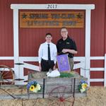 Grand Champion Single Fryer Rabbit - Kyle Moorhead; Buyer - Jostens