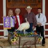 Grand Champion Turkey - Justin Bakke; Buyer - Wayne and Deloras Thompson