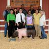 Grand Champion Swine - Christian Puente; Buyer - Spring Stampede