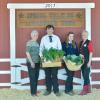 2nd Place Vegetable - Grant Bennett SFFA; Buyer - Meyer Farms